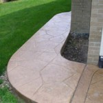 decorative Stamped & Decorative Concrete Large Random Stone 1 150x150