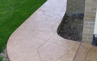 decorative Stamped & Decorative Concrete Large Random Stone 1 320x202
