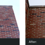 brick Brick Work & Tuck Pointing Tuckpointing Before and After 150x150