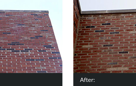 brick Brick Work & Tuck Pointing Tuckpointing Before and After 460x291