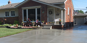 cement Home Driveways Box