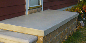 cement Home Porches Box